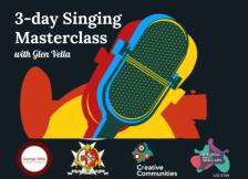 Singing MC poster